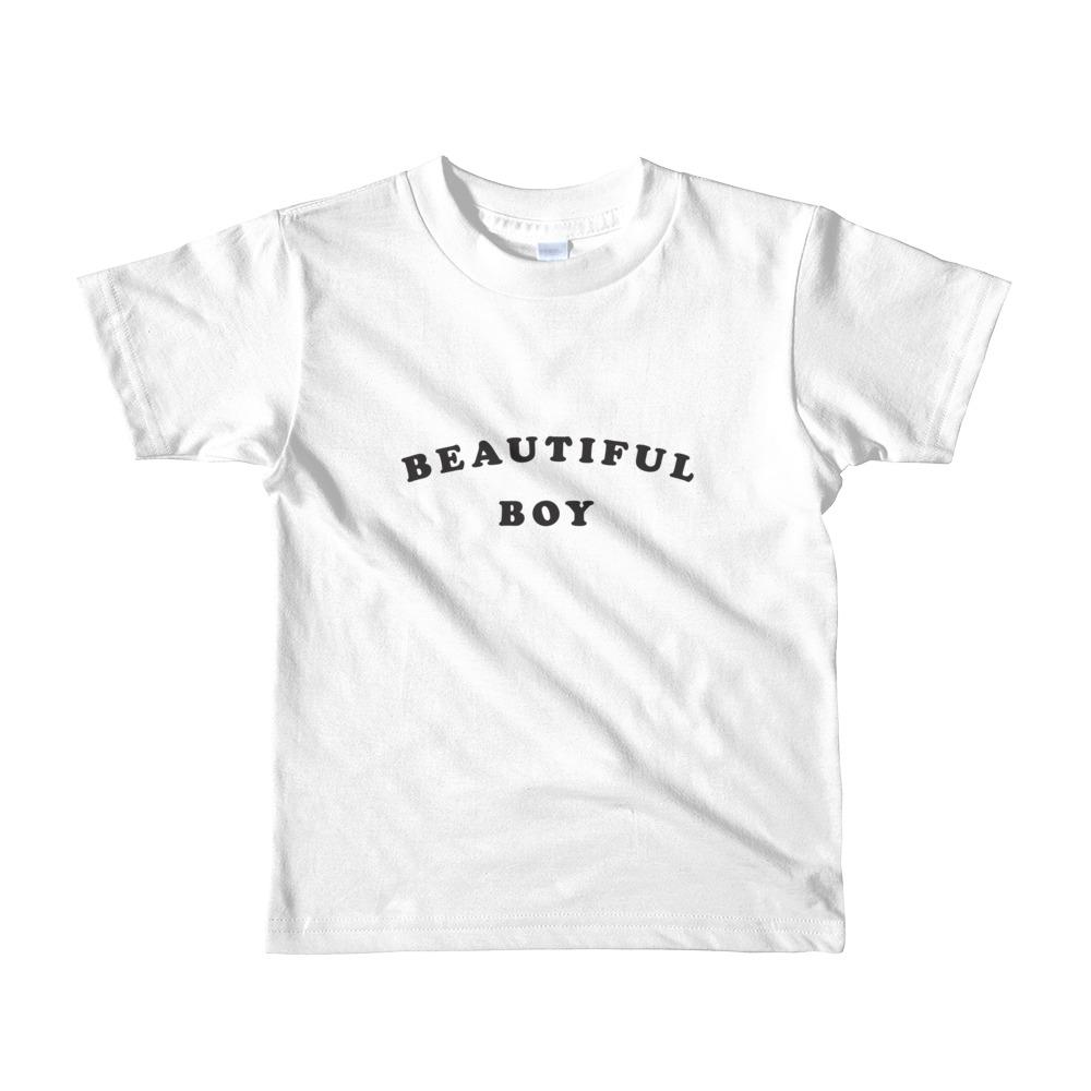 Beautiful Boy Toddler Tshirt White
