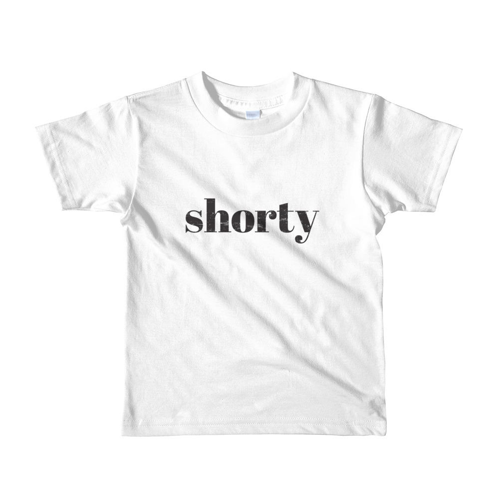 Shorty Toddler T-shirt White