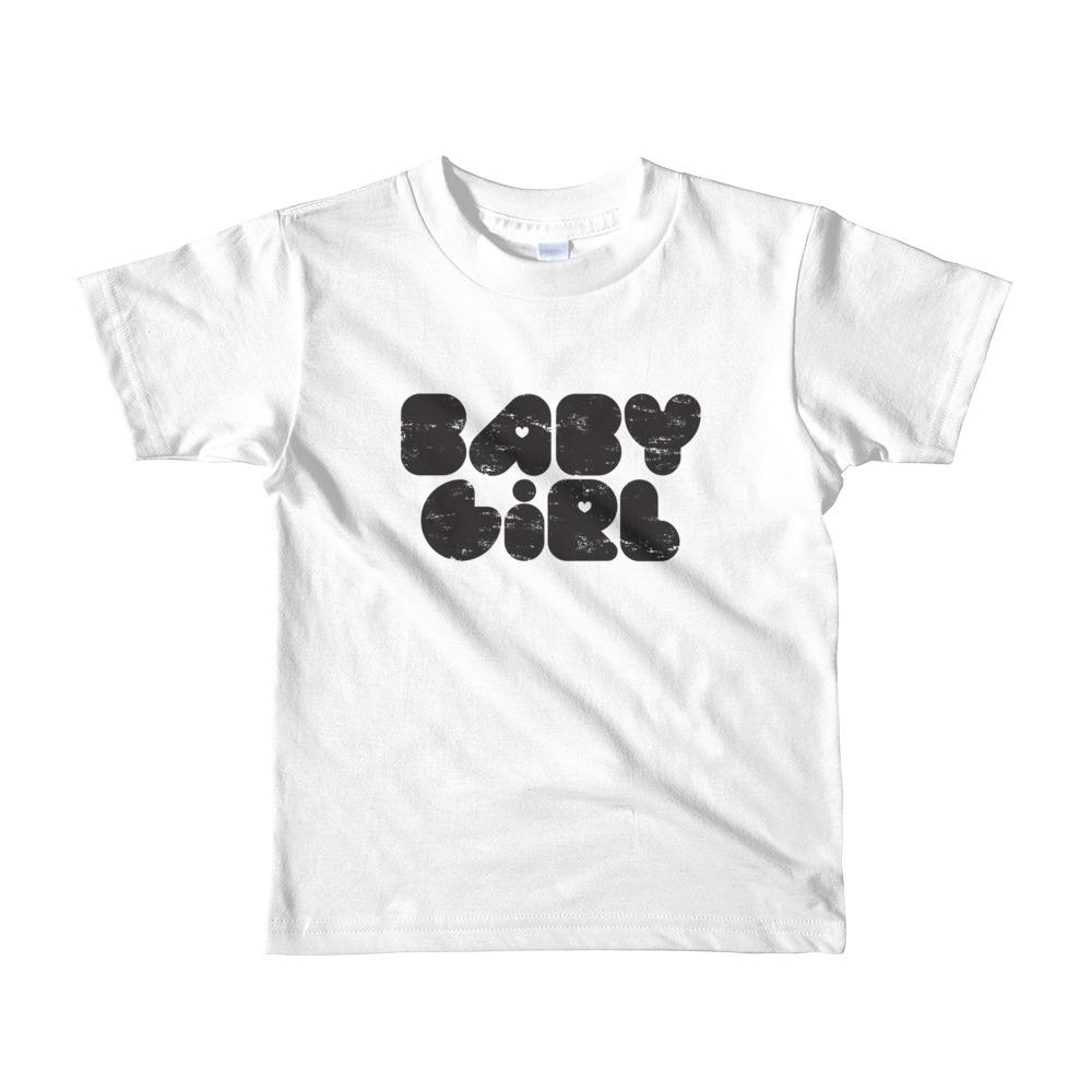 Baby Girl Toddler Tshirt White