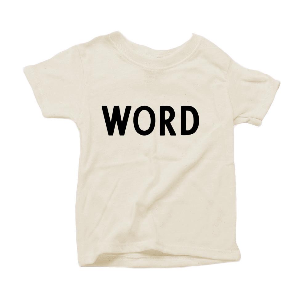 WORD Organic Tshirt