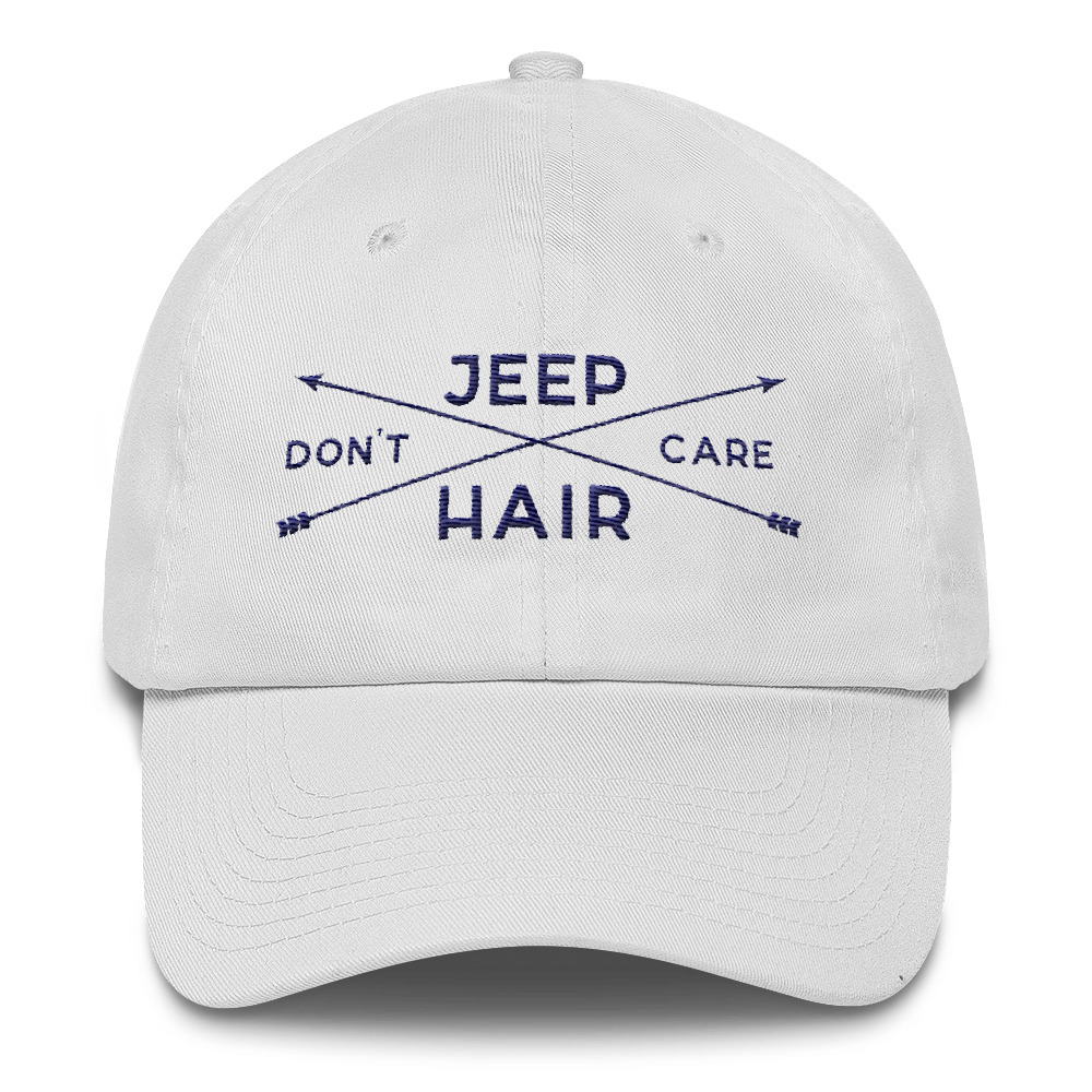 Jeep Hair Don't Care Embroidered Hat